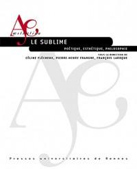Sublime: Poétique, esthétique, philosophie