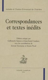 Correspondances et textes inédits