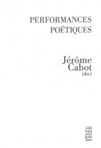 Performances poétiques