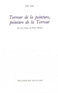Terreur de la peinture, peinture de la Terreur : Sur Les Onze, de Pierre Michon