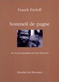 Un sommeil de pagne : Sur les photographies de Karl Blanchet