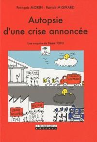 La crise financiere, et après ? en pleurer ? en rire ?
