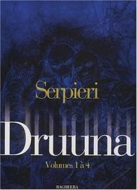 Druuna, tome 1 (Coffret de 4 volumes, tomes 1 à 4)