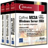 Coffret MCSA Windows Server 2003 : Les 3 examens obligatoires (3Cédérom)