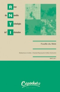 Revue des Nouvelles Technologies  de l'Information - Fouille du Web