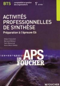Activités professionnelles de synthèse BTS CGO : Préparation à l'épreuve E6 (Ancienne Edition)