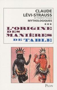 L'Origine des Manieres de Table T03