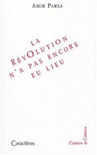 La révolution n'a pas encore eu lieu