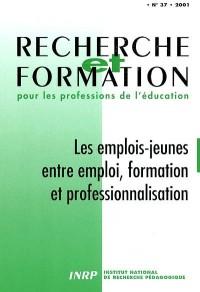 Les emplois jeunes entre emploi, formation et professionnalisation