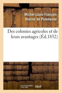 Des Colonies Agricoles  ed 1832
