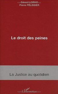 Le droit des peines : Mise à exécution et après peine