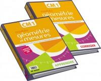 Modulo géométrie et mesure CM1 : 2 volumes : Apprendre et corriger