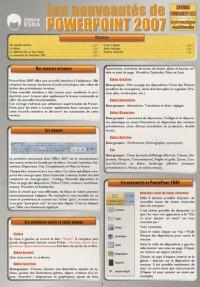 Les nouveautés de PowerPoint 2007