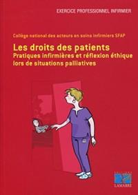 Les droits des patients: Pratiques infirmières et réflexion éthique lors de situations palliatives.