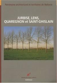 Jurbise, Lens, Quaregnon et Saint-Ghislain