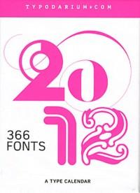 Typodarium 2012 - un Calendrier Typographique (Coffret)