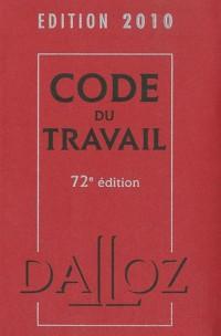 Dalloz études droit du travail LMD 2010-2011