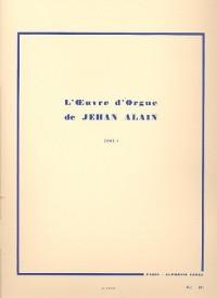 L'Oeuvre d'orgue - Volume 1