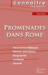 Fiche de lecture Promenades dans Rome (Analyse littéraire de référence et résumé complet)