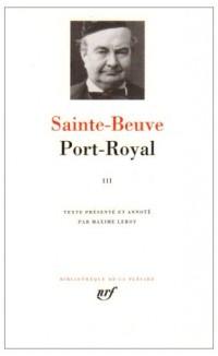 Port-Royal, tome 3