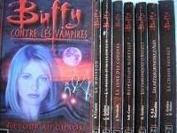 buffy contre les vampires - lot 8 titres : T1: la moisson ,T2: la pluie d'halloween ,T3: la lune des coyotes ,T4: répétition mortelle ,T6: les chroniques d'angel tome 1 ,T8: les métamorphoses d'alex ,