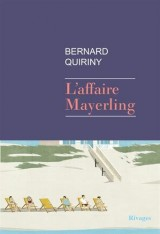 Couverture du livre L'affaire Mayerling