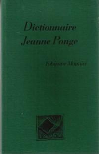 Dictionnaire jean ponge