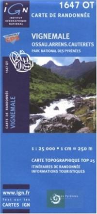 Carte de randonnée : Vignemale - Cauterets
