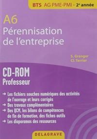A6 Perennisation Entreprise Bts Ag Pme Pmi CD ROM Professeur