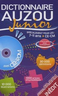 Dictionnaire Auzou Junior : CE-CM, 7-11 ans (1Cédérom)