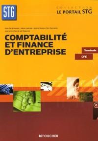 Comptabilité et finance d'entreprise Tle CFE (Ancienne Edition)