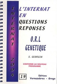 ORL génétique