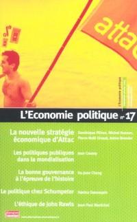 L'économie politique.17 : la nouvelle strategie   economique d'attac