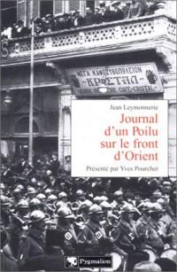 Journal d'un Poilu sur le front d'Orient