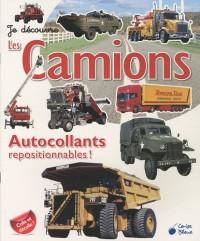 Camions (Autocollants Je Découvre)