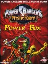 Power Rangers Mystic Force. Power box. Con gadget