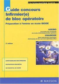 Guide Prépa : Concours infirmier(e) de bloc operatoire