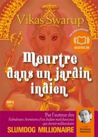 Meurtre dans un jardin indien (cc) - Audio livre 2 CD MP3 - 557 Mo + 606 Mo