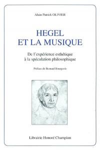 Hegel et la musique : de l'expérience esthétique à la spéculation philosophique