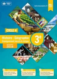 Histoire Géographie Enseignement moral et civique 3e Cycle 4 : Manuel élève