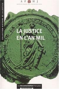 La justice en l'an mil