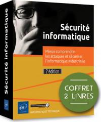Sécurité informatique - Coffret de 2 livres