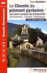 Le chemin du piémont pyrénéen vers Saint-Jacques-de-Compostelle