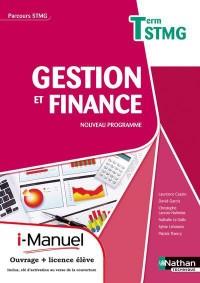 Gestion et Finance Term Stmg  (Parcours Stmg)  Licence Numerique Eleve  I-Manuel+Ouvrage Papier