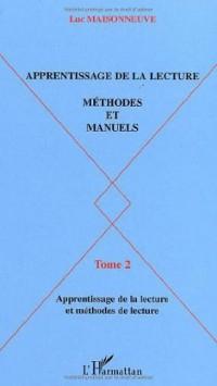 Apprentissage de la lecture, Méthodes et manuels. Tome 2, Les manuels d'apprentissage de la lecture