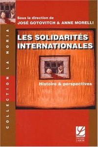 Les solidarites internacionales