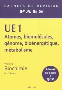Carnets de Révision Biochimie P1