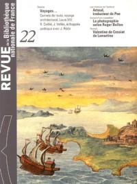 Revue de la Bibliothèque nationale de France, N° 22 : Le voyage