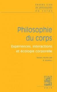 Textes clés de philosophie du corps