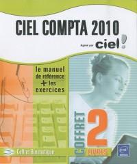 Ciel Compta 2010 - Coffret de 2 livres